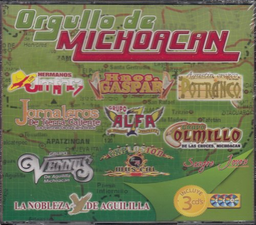 Orgullo De Michoacan Box Set 3cd by