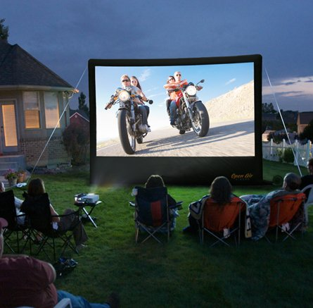 Best Open Air Cinema 16 ft. CineBox Home Theater System (online)