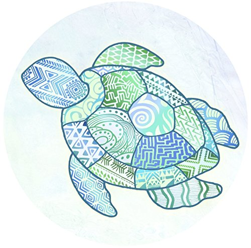 Glass Door & Window Repositionable Sticker Decal. 2 per package -Shower Doors, Alert Birds, Dogs, Kids, Customers and Guests. Warn, Protect, Safety, Removable, Self Adhesive, Bird Alert. (Turtle) ()
