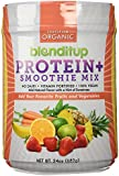 BlendItUp Organic Vegan Protein Smoothie Mix Powder made from Plant Sources with No Whey or Animal Products that is 100% Kosher, Gluten Free, Vitamin Fortified, No Sugar Added - 24oz