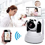 Dog-IP-Cam-Wireless-Security-Camera-HD-720P-WiFi-Baby-Cam-Pet-Monitor-PanTilt-with-Motion-Detection-Two-Way-Audio-Night-Vision