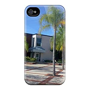My College Case Compatible With Iphone 4/4s/ Hot Protection Case