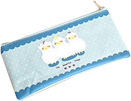 cosanter estuche bolsa 3 bolsa de tela Oxford de ovejas patrón gafas de cosméticos para Teen Girls: Amazon.es: Oficina y papelería