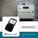 Caseling Hard Carry Case fits Brother P Touch Label Maker PTD400 PTD400AD or PTD450 Carrying Storage Travel Bag Protective Pouch