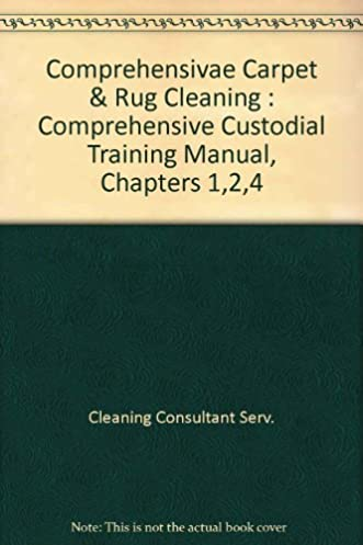 amazon com comprehensive carpet rug cleaning comprehensive rh amazon com Disneyland Custodial Cast Member Custodial Training In-Site