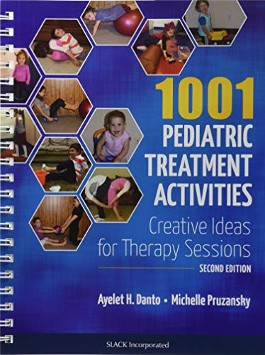 - 1001 Pediatric Treatment Activities: Creative Ideas for Therapy Sessions