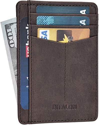 Leather wallets Slim Wallets RFID product image