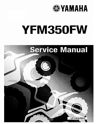 Yamaha Big Bear 350 YFM 350 1987 1997 Service