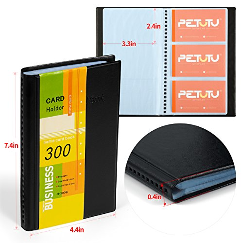 Review Business Card Holder Organizer