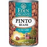 EDEN FOODS BEAN CAN PINTO NS ORG, 15 OZ, PK- 12