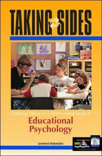 Clashing Views on Controversial Issues in Educational Psychology (Taking Sides) by Leonard Abbeduto (1999-12-01)
