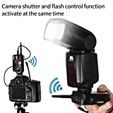 Pixel Flash Trigger for Canon, Wireless Shutter Release Remote Control 1/320s Transceiver-professional for Canon Camera