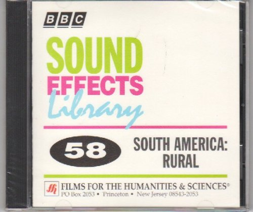 Sound Effects Library #58 South America: Rural