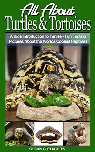 Book: Turtles - All About Turtles and Tortoises, A Kids Introduction to Turtles - Fun Facts & Pictures About the Worlds Coolest Reptiles! by Susan G. Charles