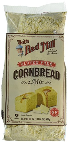 Bob's Red Mill Gluten Free Cornbread Mix, 20-ounce (Pack of 4)