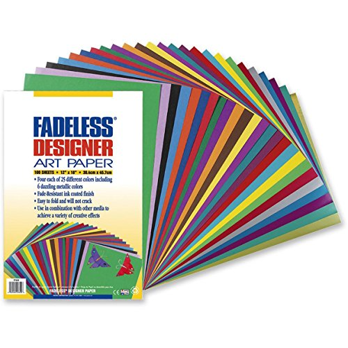 Pacon Fadeless Designer Assortment , (Fadeless Metallic Art Paper)