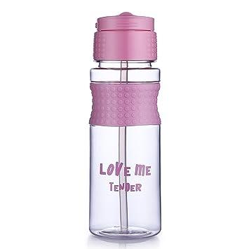 oneisall gybl239 700 ML Botella de Agua Eco-Friendly co-Polyester plástico, no
