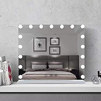 Amazon Com Fenchilin Large Vanity Mirror With Lights