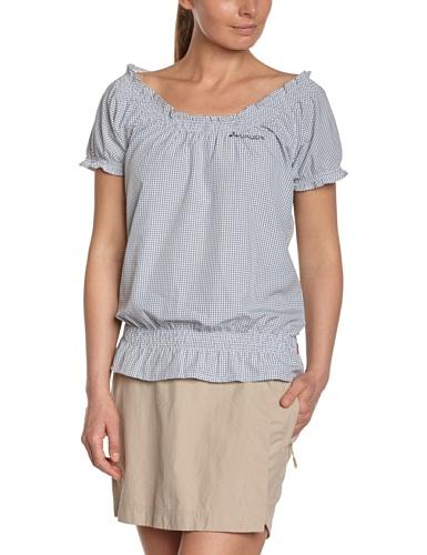 VAUDE Bluse Womens Syfarna Shirt - Camiseta azul (blau)