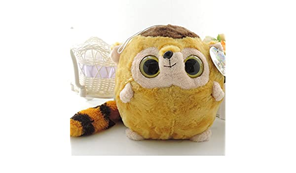 Amazon.com: Kawaii big eyes plush animals 20cm stuffed lovely korean toys yoohoo friends owl fox loris peluche doll gift random delivery: Baby