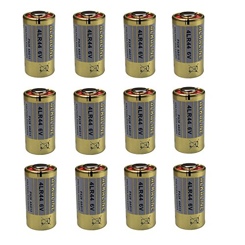 4LR44 6V Alkaline Battery for Dog Bark Training Fencing Collar 4LR44 / PX28A A544 K28A V34PX476A A544 K28A L1325