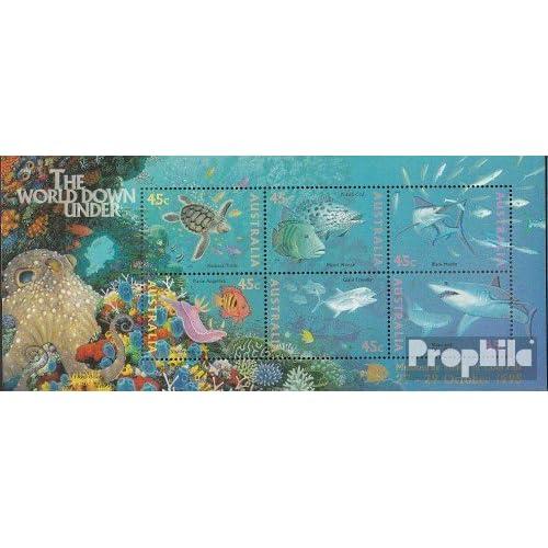 Australie Block20IV (complète.Edition.) 1995 mer (Timbres pour les collectionneurs)