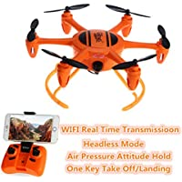 BDKJ New professional mini Six axis aerial aircraft T907-W 2.4G mini Wifi Real time RC quadcopter Drone UFO RTF toy with 0.3MP Camera