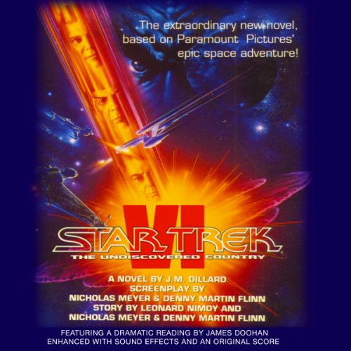 Star Trek VI: The Undiscovered Country (Adapted) Audiobook [Free Download by Trial] thumbnail
