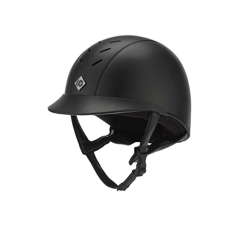 Charles Owen 'The Ayrbrush' Helmet [Black, 7 (57cm)