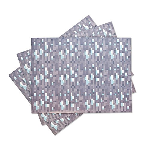 JINX Minecraft Diamond Wrapping Paper (Christmas Jinx)