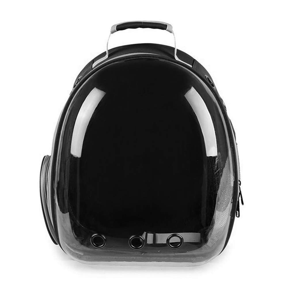 MAGA 1 1pc Pet Travel Bag Transparent Pet Backpack Breathable Kitty Puppy Chihuahua Small Dog Cat Shoulder Carrier Crate Outdoor Cave