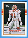 Deion Sanders 1989 Topps Traded Rookie Card **Hall of Famer** (Falcons) (49ers) (Cowboys)