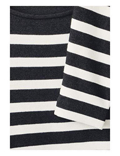 A black Street Maglietta 20001 Lunghe Mehrfarbig Donna Maniche One gx0zTwq0E