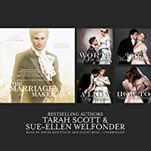 The Marriage Maker: Worth of a Lady, The Marriage Wager, A Lady by Chance, How to Catch an Heiress Audiobook by Sue-Ellen Welfonder, Tarah Scott Narrated by David Monteath, Ginny Ross