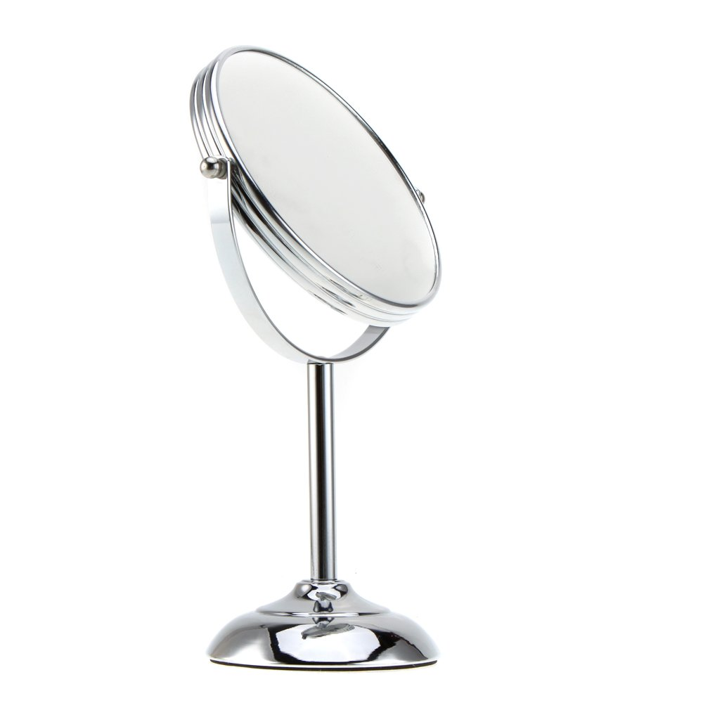 Amazon com  Skango TM 6 Inch 10x Magnification Circular Makeup Mirror Dual 2Sided Round Shape Cosmetic Stand for Make up Home Kitchen