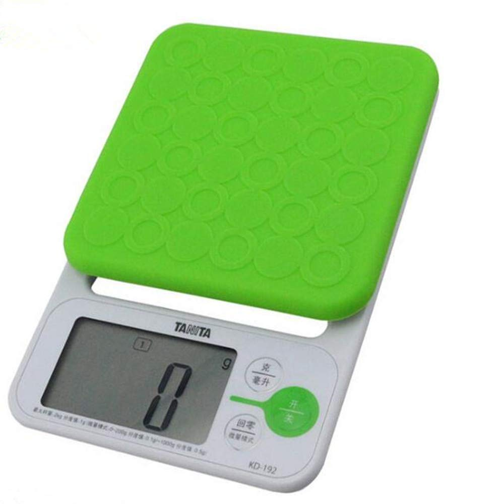 MILAIDI Kitchen Scale 2Kg/0.1-1G Electronic Kitchen Called Electronic Scale Food Baking Table Gram Scale,Green by MILAIDI