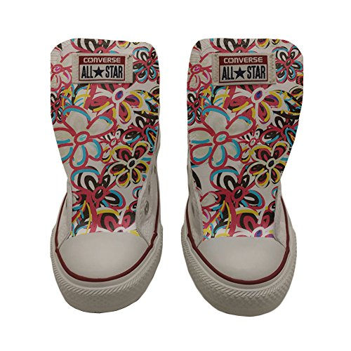 Artesano Unisex Producto Abstract Zapatos Floreal Converse All Star Personalizados PxwgTOOY