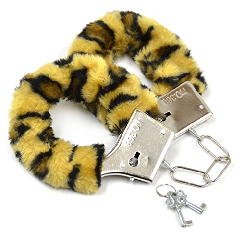 Catcheye Furry Fuzzy Handcuffs For Party ()