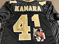Alvin Kamara Autographed Signed Custom New Orleans Saints Jersey COA & Hologram W/Photo From Signing