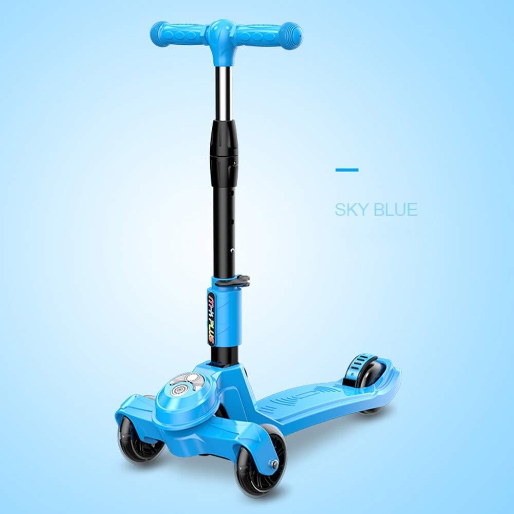 安い割引 Wink zone 3-15フラッシュ三輪スクーター、子供の初心者スクーター :、調整可能 zone、折りたたみ可能 Wink、子供の誕生日プレゼント 購入へようこそ ( Color : Blue ) B07QVKKBFC, ミツギチョウ:12e15999 --- svecha37.ru