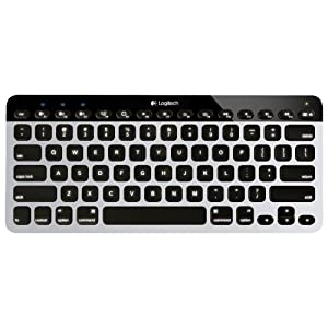Logitech Easy‑Switch K811 Wireless Bluetooth Keyboard for Mac, iPad, iPhone, Apple TV