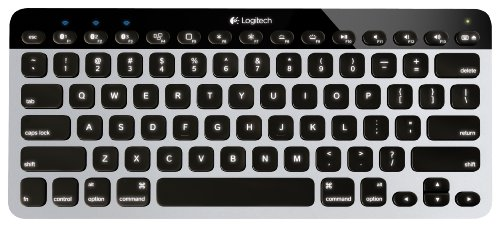Logitech Easy‑Switch K811 Wireless Bluetooth Keyboard for Mac, iPad, iPhone, Apple - Cable Logitech Video Cable