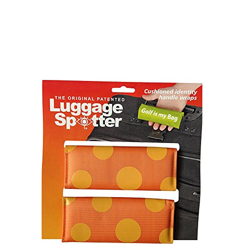 luggage-spotters-designer-orange-polka-dot-luggage-spotter-orange