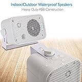 Dual Waterproof Outdoor Speaker System - 3.5 Inch