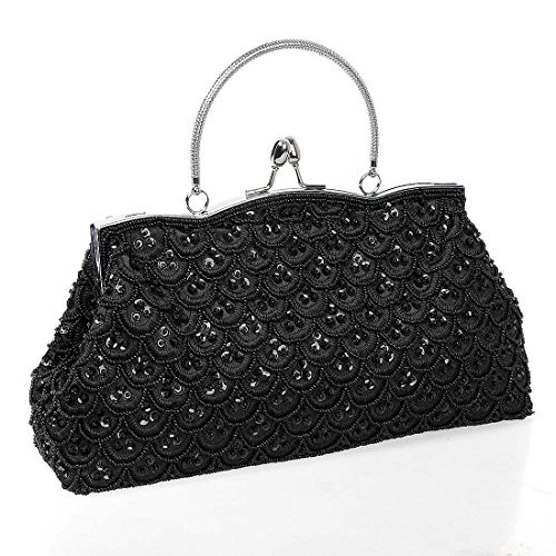 Womens Elegant Pattern Encrusted Evening product image