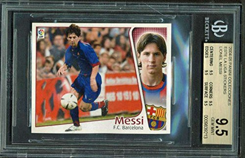 2004-05 Panini Colecciones Este La Liga Sticjers Lionel M...