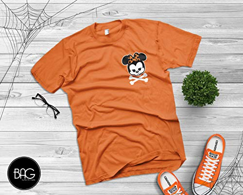 Skull Minnie Mouse Mickey Mouse Shirt Happy Halloween Shirt - Mickey Mouse - Mickey's Not so scary halloween party
