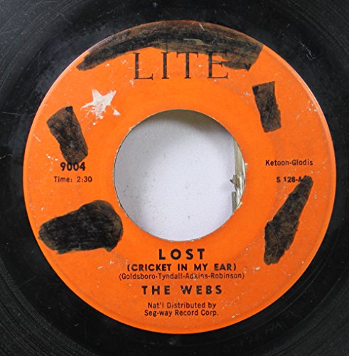 the webs 45 RPM lost (cricket in my ear) / blue skies