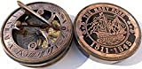 MAH This is Hand-Made Brass Sundial Compass. C-3048