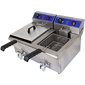 Amazon.com: Commercial Deep Fryer: Stainless Steel